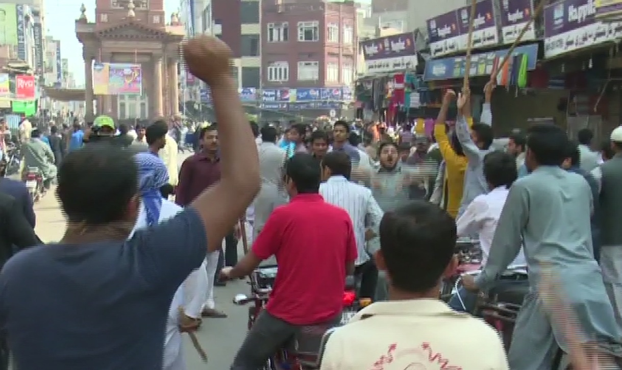Sunni Ittehad Council protests against ban on loud speakers