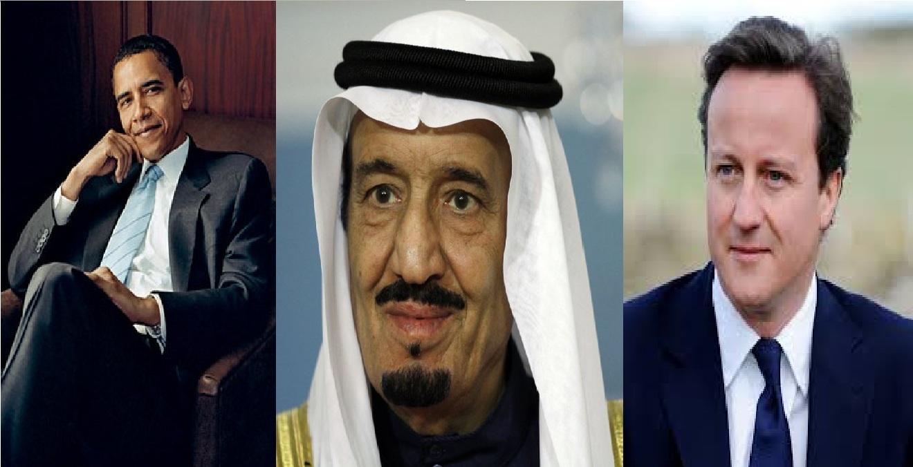 Obama, British PM call Saudi king; Assure assistance to achieve 'collective Yemen goal'