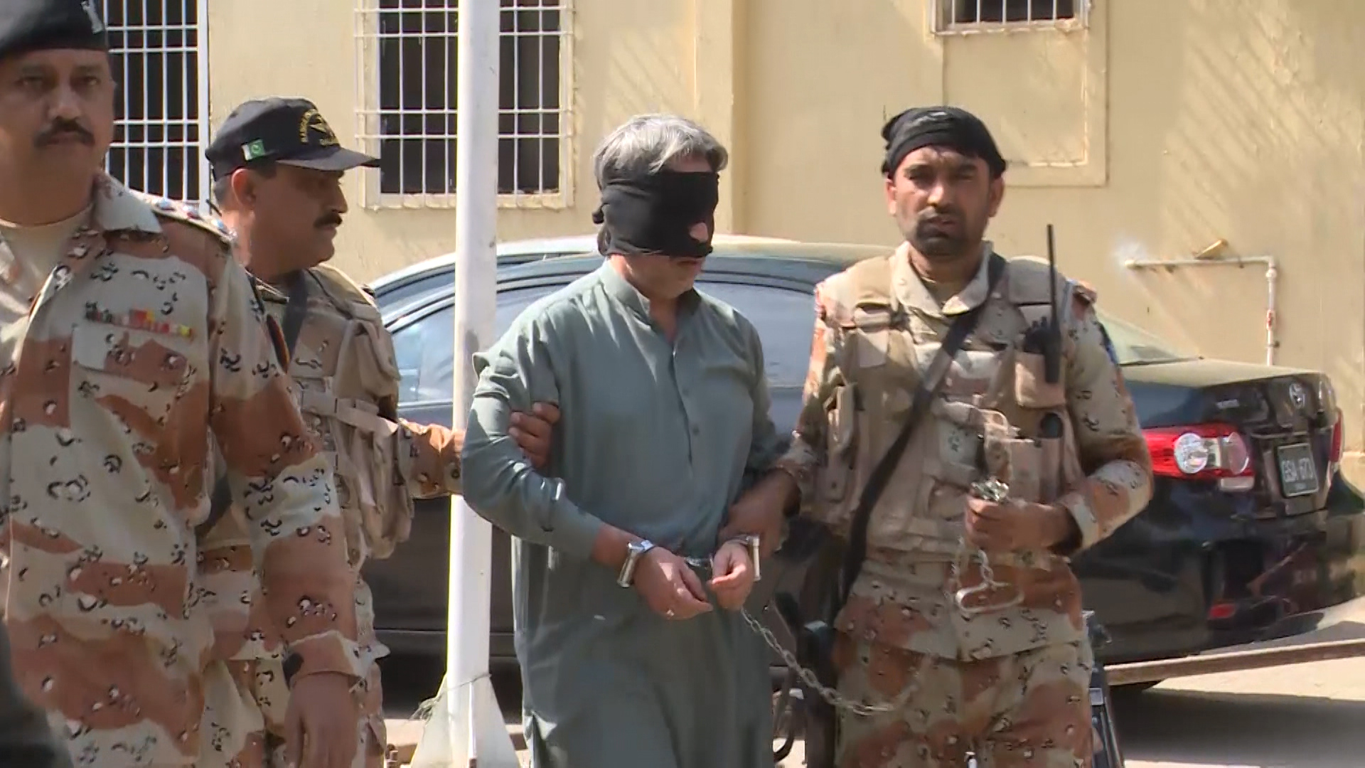 MQM's Amir Khan among 28 accused handed over to Rangers for 90 days