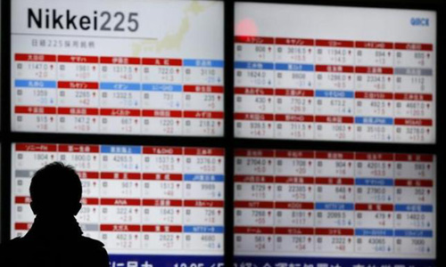 Asia crawls higher after upbeat US data, dollar stands tall