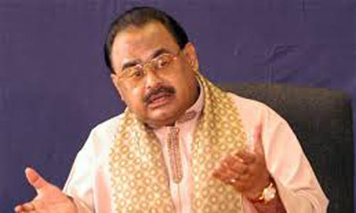 Operation diverted to MQM under garb of accused's arrest, says Altaf Hussain