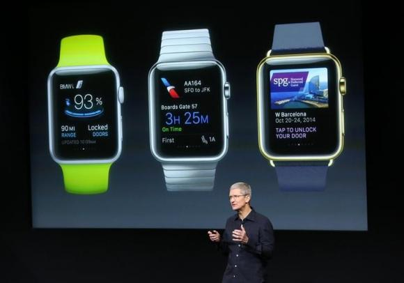 Cook says Apple Watch will replace car keys – Telegraph