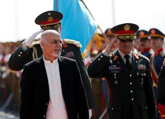 Terrorists entering Afghanistan due to operations in Waziristan & Khyber Agency: Ashraf Ghani