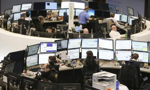 Europe shares hold at seven-year highs, China rate cut lifts Asia