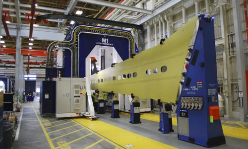 Boeing starts building 737 wings with new automated system