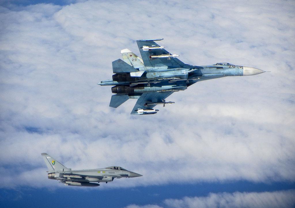 NATO intercepts Russian fighters over Baltic Sea