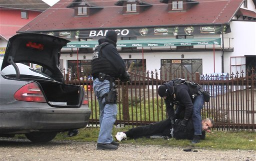 Five held in Bosnia with bomb destined for Swedish gang