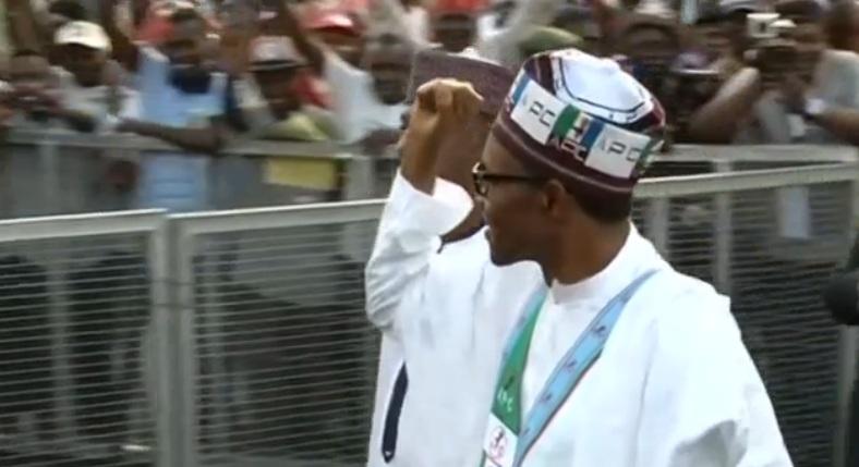 Buhari claims victory in historic Nigerian vote
