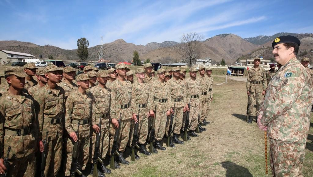 Leading from front will eliminate terrorism: COAS