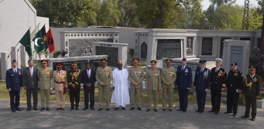 Pakistan defence capability not for war but peace: COAS Raheel Sharif
