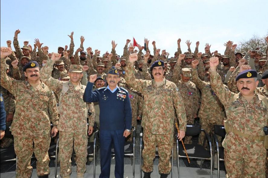 COAS reaffirms commitment to eliminate terrorism from Pakistan