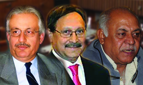 PPP shortlists Raza Rabbani, Farooq H Naik; PML-N recommends Hasil Bizenjo for Senate chairman