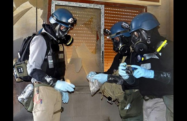 Chemical arms body to investigate allegations of Syrian chlorine gas attack
