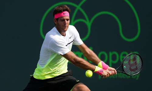 Del Potro refuses to be downhearted after comeback loss