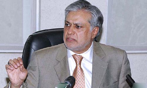 Economy moving toward improvement due to effective policies, says Ishaq Dar