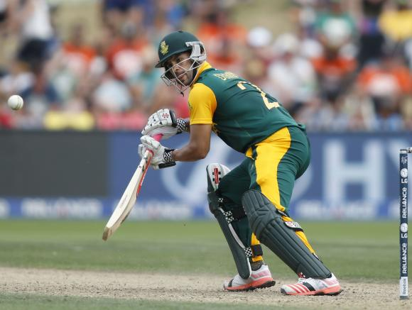 South Africa recall JP Duminy for today's match