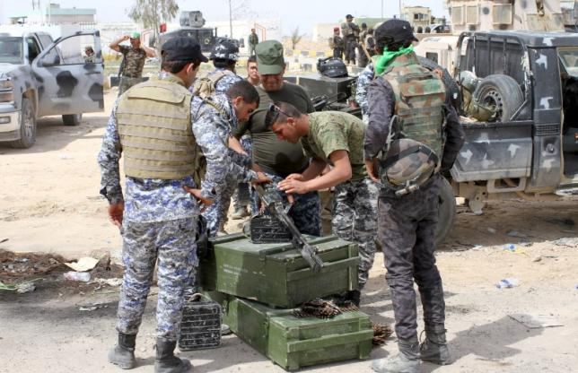 Enemy fire, booby-traps delay Iraqi forces' advance in Tikrit