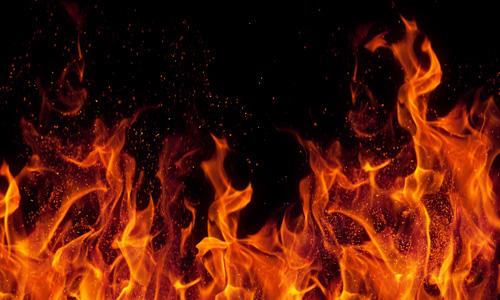 Fire breakout opposite Sindh Secretariat in Karachi contained