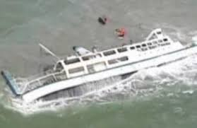 About 50 dead as Myanmar ferry sinks in bad weather