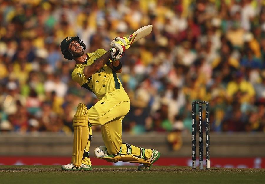 Maxwell ton fires Australia past Sri Lanka