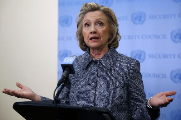 Hillary Clinton blasts Republicans over Iran nuclear letter