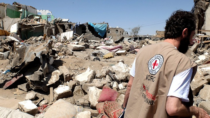 Coalition stopping Red Cross delivering medical aid in Yemen: spokeswoman