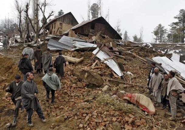 17 dead as heavy rains trigger flood fears in Indian Held Kashmir