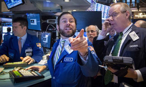 Investors eye data as stocks approach records