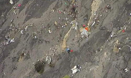 Investigators seek clues into why jet ploughed into French mountainside