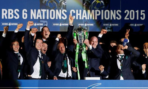 Ireland take Six Nations glory after dramatic try-fest
