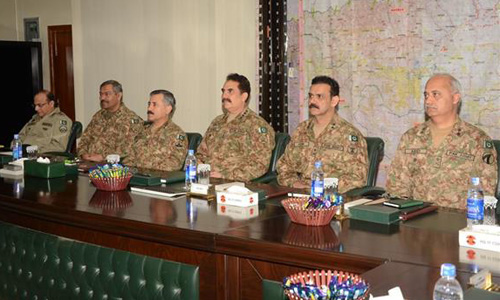 Operation only solution to wipe out terrorism, says COAS Raheel Sharif