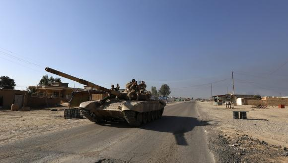 Iraqi forces enter northern district of Tikrit: governor