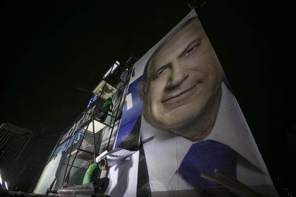 As Israeli election nears, peace earns barely a mention