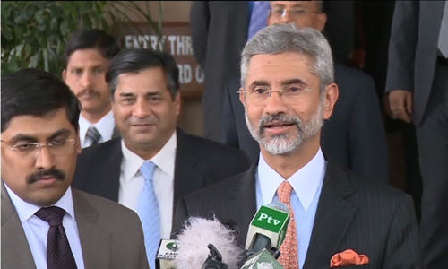 India wants good relations with neighbouring countries, says foreign secretary Jaishankar