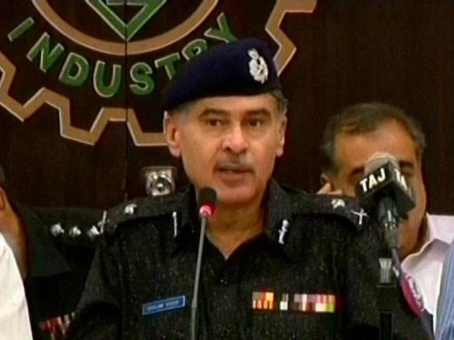 Target-killing is now zero in Karachi, claims IG Sindh