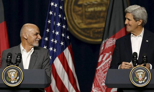 U.S. pledges to keep funding Afghans amid calls for slower pullout