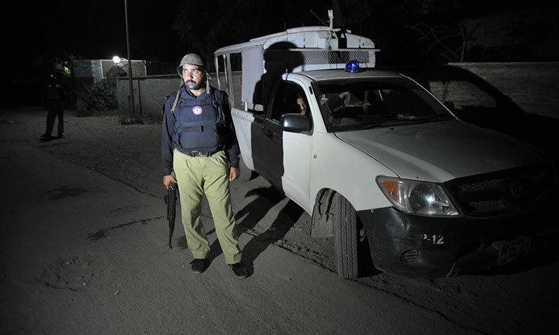 KP police arrests 188 people on suspicion, 51 Afghan nationals