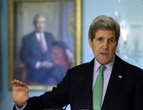 Kerry says US deserves 'benefit of the doubt' on getting Iran nuclear deal