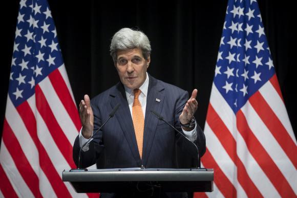 Iran voices mistrust as Kerry says nuclear talks advance