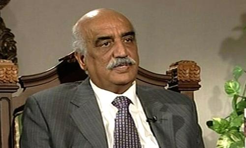 Khurshid Shah advises Imran to vote for Senate chairman