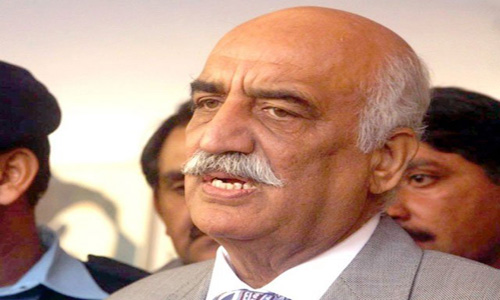 Pakistan should not become part of Middle East War, says Khurshid Shah