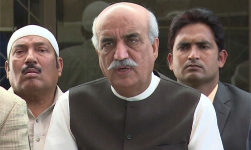 MQM should remain in mainstream politics by disowning armed wing, says Khurshid Shah