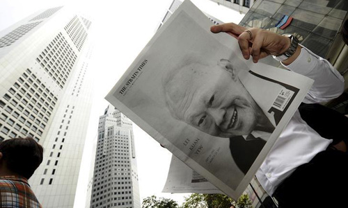 World leaders' tributes for Singapore's Lee Kuan Yew