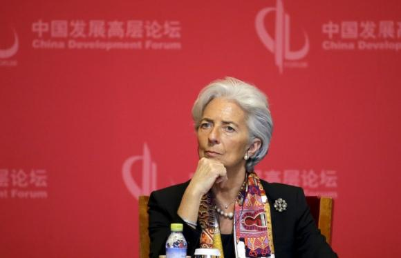 IMF happy to cooperate with China on AIIB: MD Lagarde