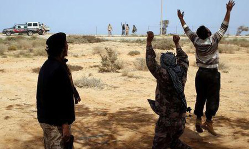 Libya's recognized government launches air strike on camp in Tripoli