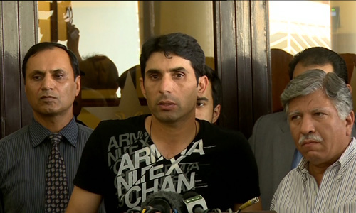 System should be improved instead of criticizing only one person, says Misbahul Haq