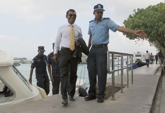 Ordering arrest of a judge: Maldives' ex-president Nasheed sentenced to 13 years in prison