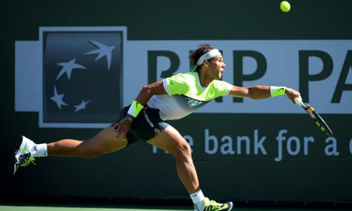 Nadal hopes to be ready for Miami despite ankle injury