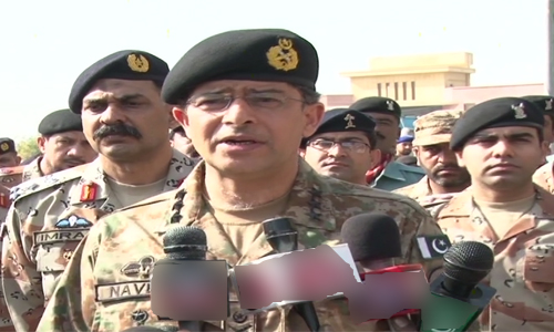 Corps Commander Karachi vows to restore peace in Karachi at all costs