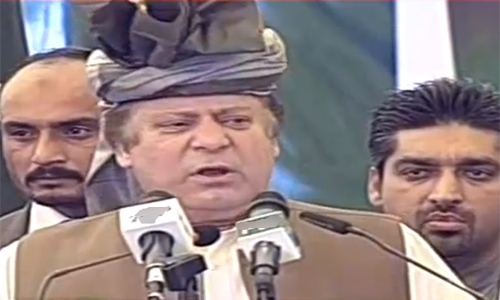 We are laying foundation of a new Pakistan, says Prime Minister Nawaz Sharif
